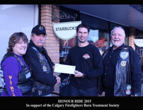 Honour Ride 2015 Donation