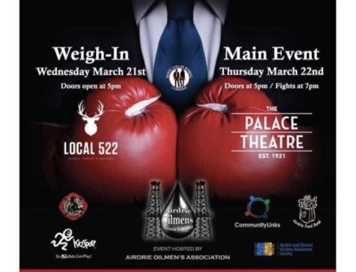 Airdrie Oilmen's Association White Collar Boxing is Back!