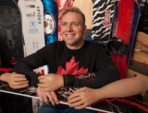 Curt Minard comes 6th in snowboard cross in PyeongChang, here's his story.