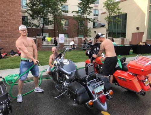 Women In the Wind Charity Bike Wash