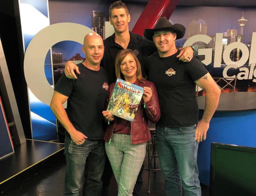 Hotstuff Calendar Guys on Global Morning News