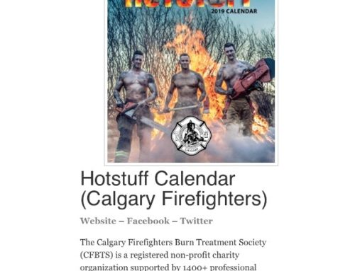 Calgary Hotstuff Calendar ranked 2nd for 2019 by firecritic