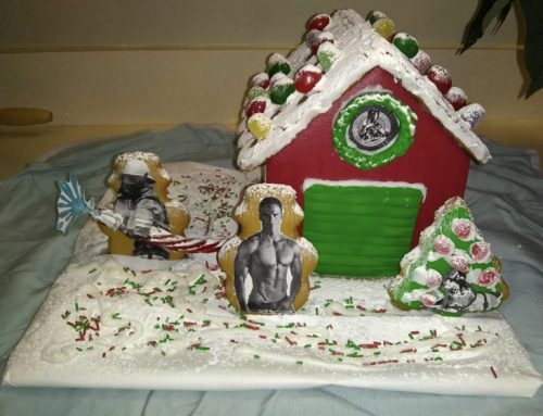 Hotstuff Gingerbread house