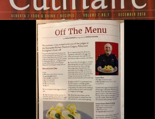 CFBTS Culinary Events Director published in Culinaire Magazine
