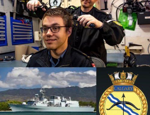 Thank you HMCS Calgary!