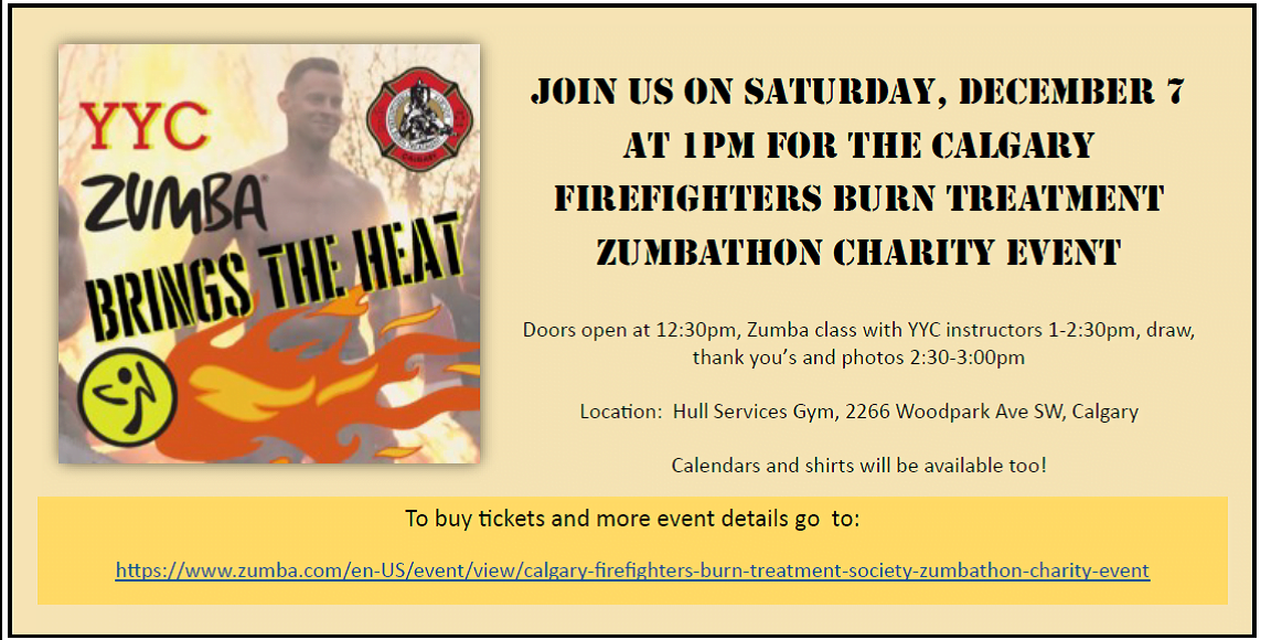 Come on out to YYC Zumba!!