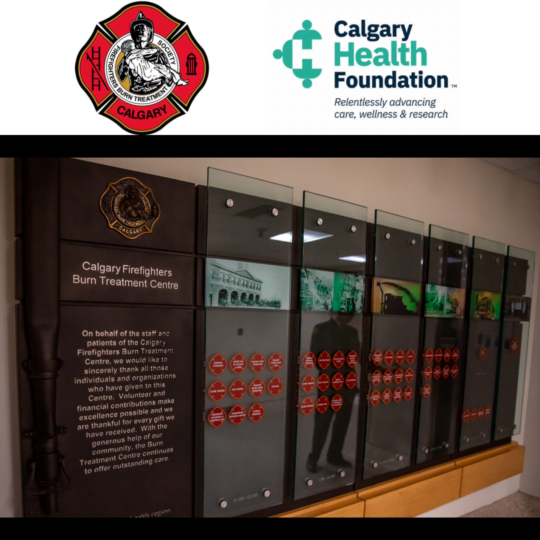 This week marks our 1st Laser treatment in Calgary Firefighters Burn Treatment Centre