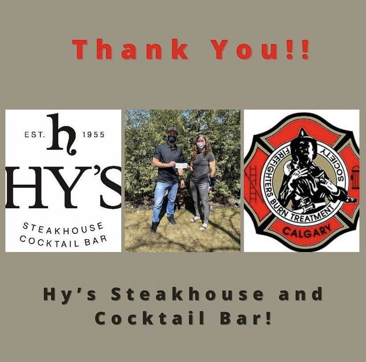 Thank you Hy's Steakhouse!